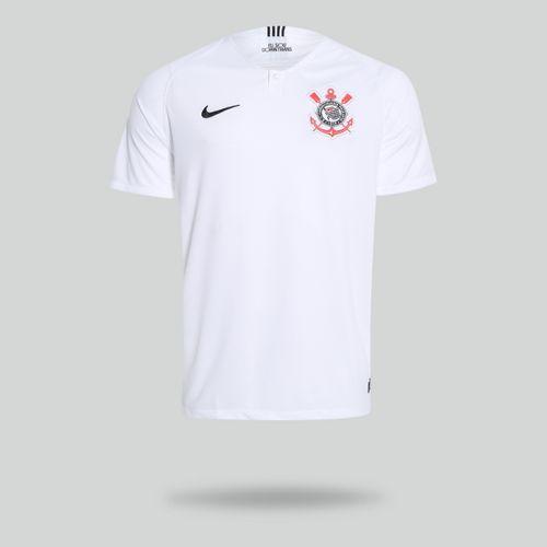 Camisa Nike Corinthians 2018 2019 I Torcedor Branca Masculina 1a53f1ef2482f