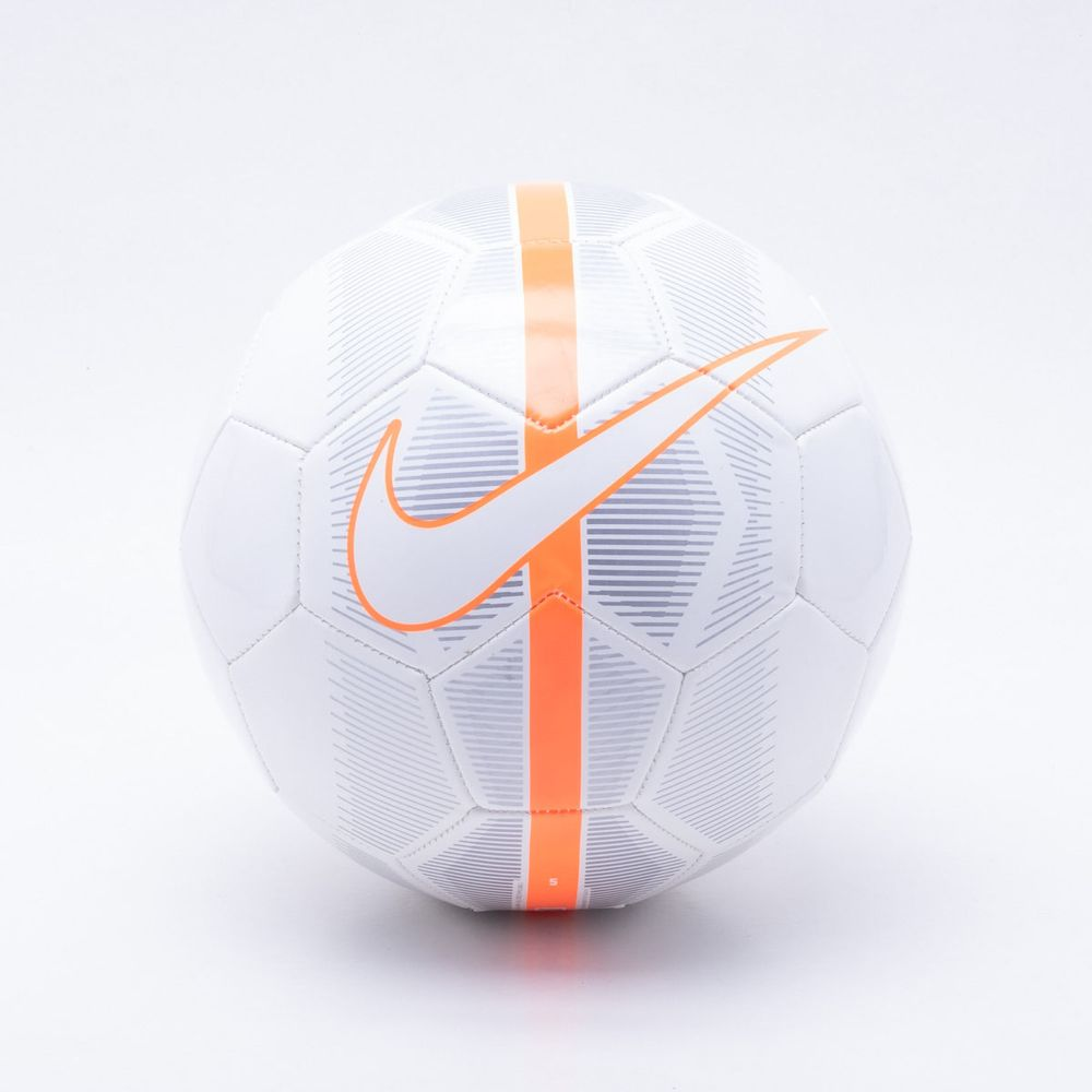 Bola Futebol Campo Nike Mercurial Fade Branco e Laranja - Gaston ... 39d15f3ff9b4b