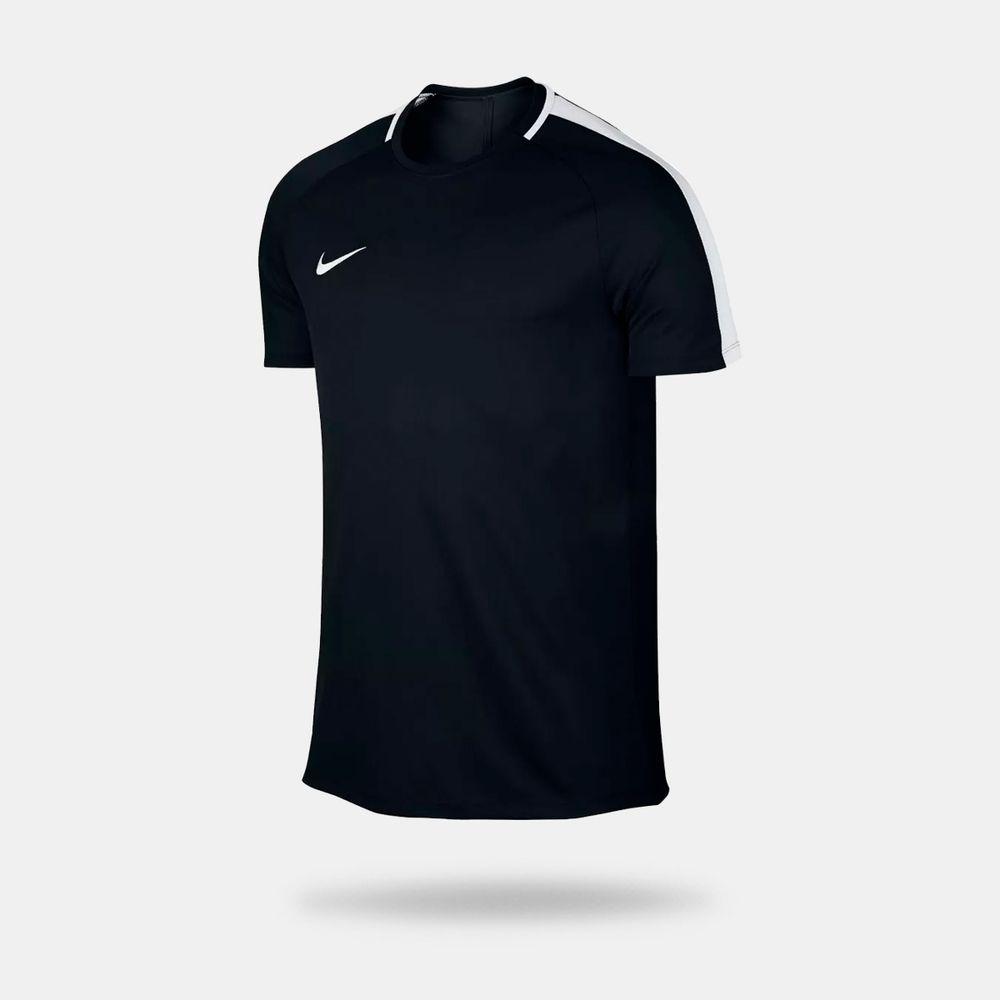 Camisa Nike Dry Top Academy Preta Masculina Preto - Gaston - Paqueta ... cf2d21a925750