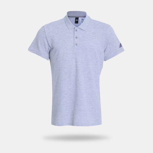 Camisa Polo Adidas Essentials Base Cinza Masculina 6bf0f7040d14d