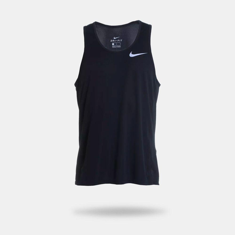 Camiseta Regata Nike Dry Miler Preta Masculina Preto - Gaston - Paqueta  Esportes 9e86921af27