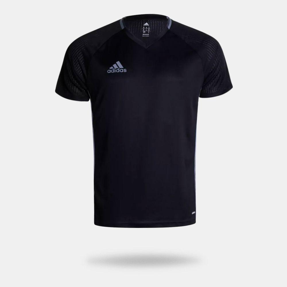 Camisa Adidas Condivo 16 Treino Preta Masculina Preto - Gaston ... 2b0d3ed4e683c