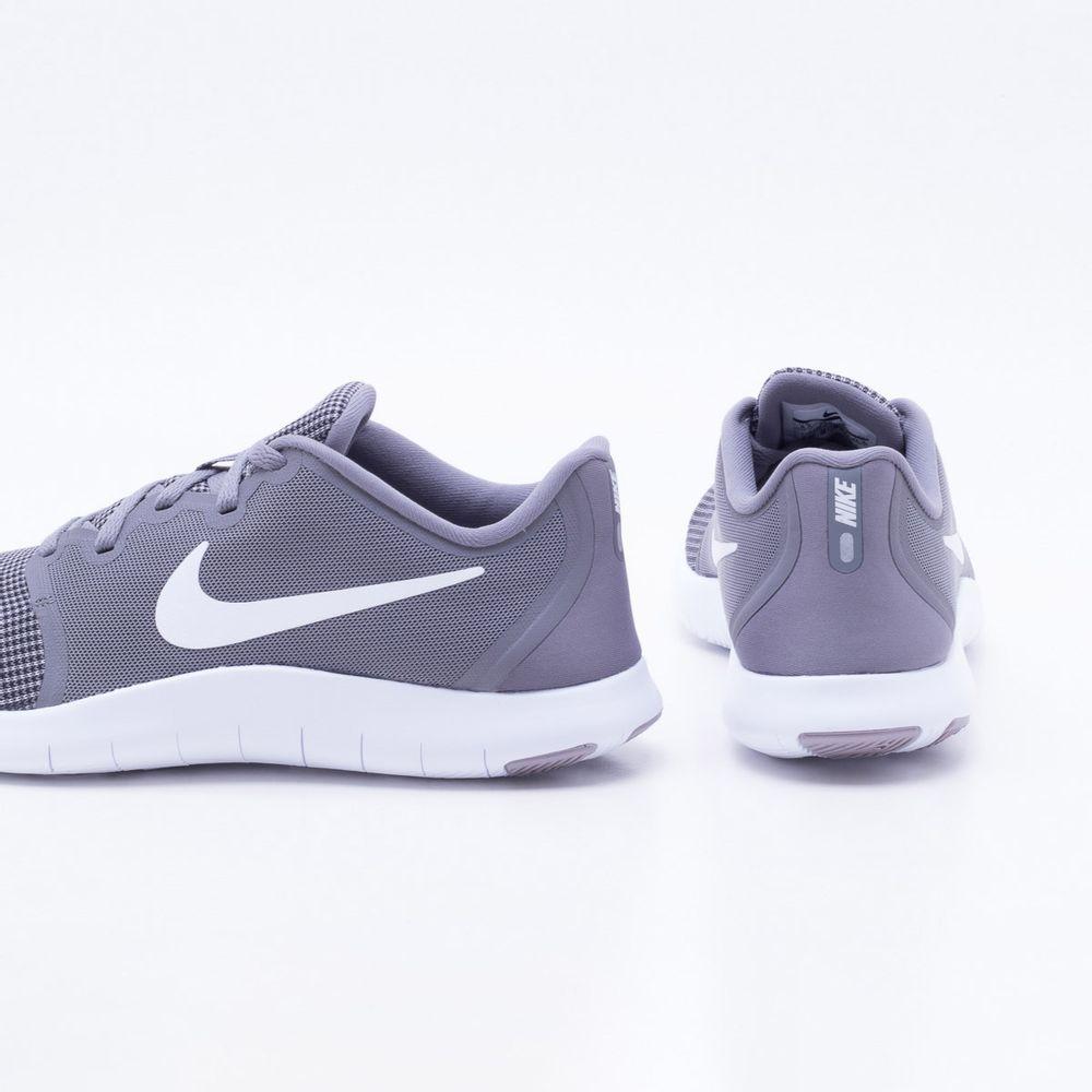 08877492aa8ca Tênis Nike Flex Contact 2 Masculino Cinza e Branco - Gaston ...