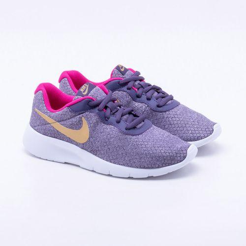 Tênis Nike Tanjun Juvenil Roxo 60ec325cb5b1a
