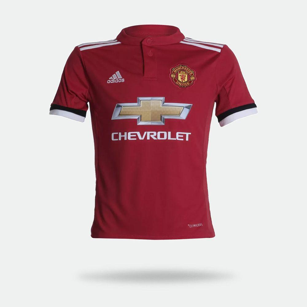 29be71d549 Camisa Adidas Manchester United I 2017/2018 Torcedor Vermelha ...