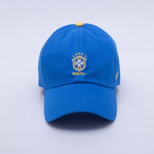 Boné Nike Brasil 2018 H86 Core Azul ee122cb092f