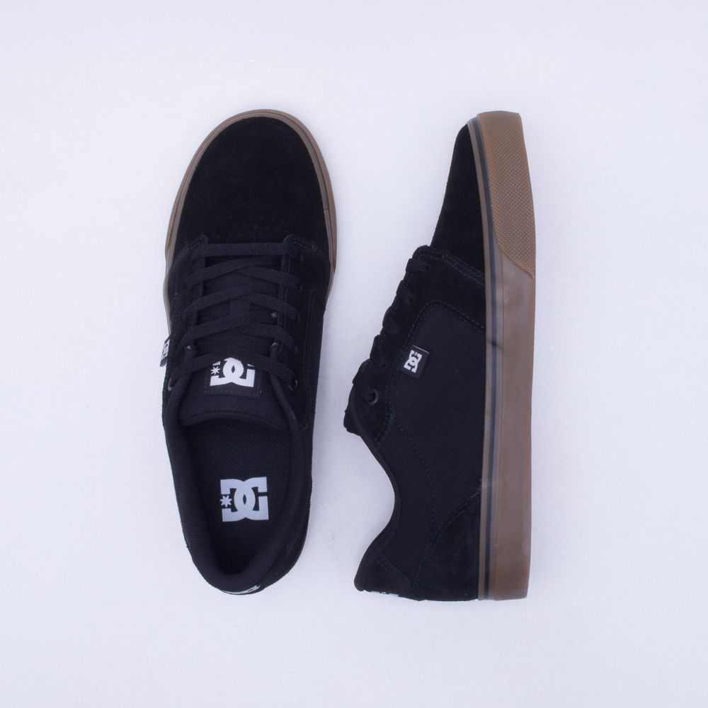 Tênis DC Shoes Anvil LA Preto Masculino Preto - Gaston - Gaston 032fbe837032a