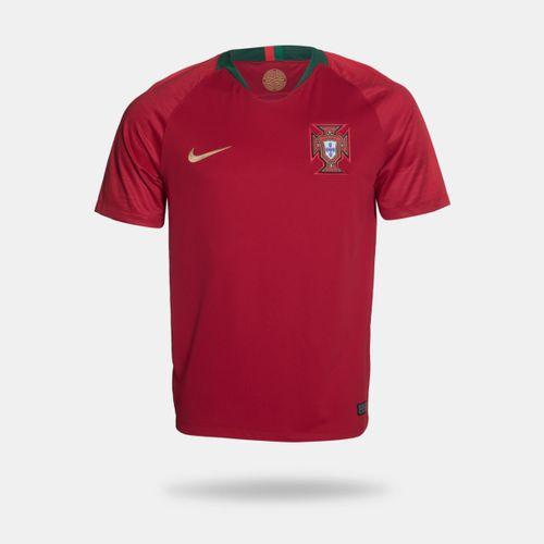 Camisa Nike Portugal I 2018 Torcedor Vermelha Masculina 8eb348a8d042d