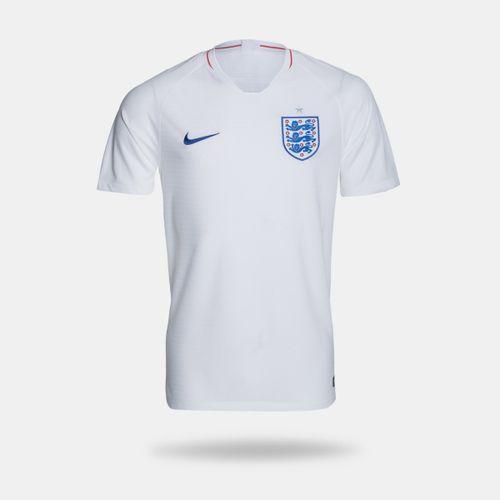 dc745d2d9d327 Camisa Nike Inglaterra I 2018 Torcedor Branca Masculina