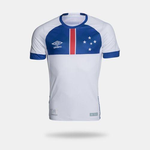 Camisa Umbro Cruzeiro 2018 II Blár Víkingur Torcedor Branca Masculina 22d9e16d1893f