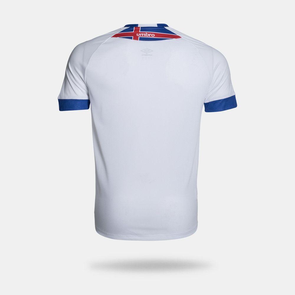 65817c39884c4 Camisa Umbro Cruzeiro 2018 II Blár Víkingur Torcedor Branca ...