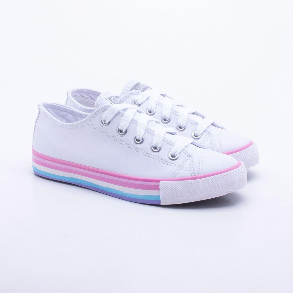 Tênis Capricho Shoes Like Class Branco Branco - Gaston - Paqueta ... ef3356fb4f