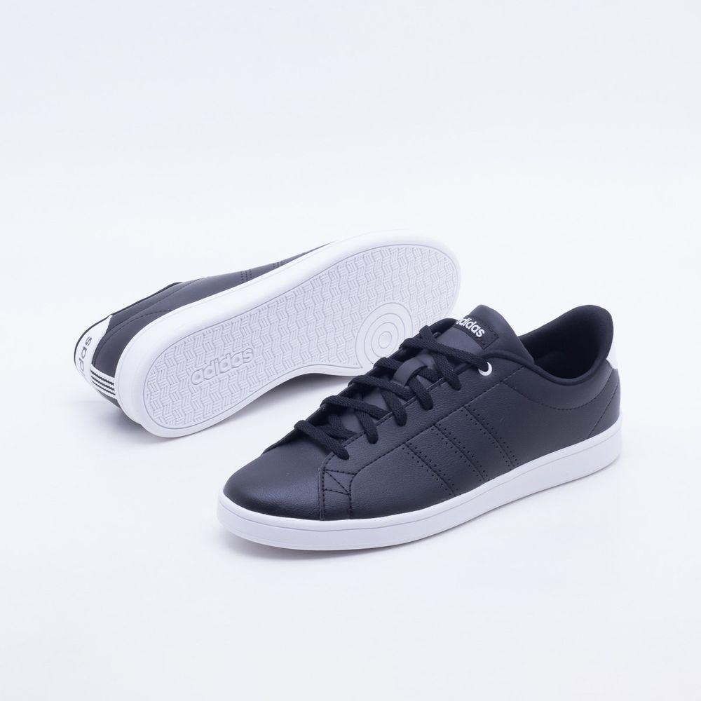 Tênis Adidas Advantage Clean QT Preto Feminino Preto - Gaston - Gaston 25a623338c2df