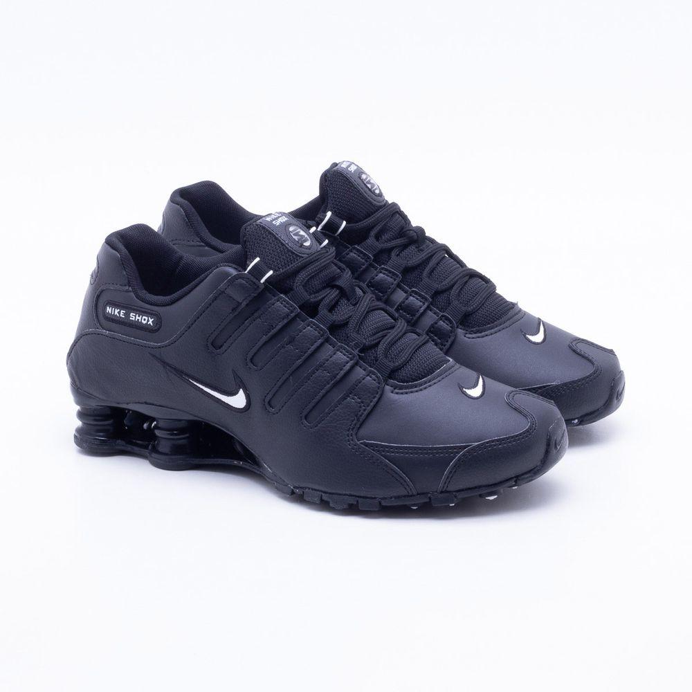 9613e44efa7 Tênis Nike Shox NZ EU Preto Masculino Preto - Gaston - Paqueta Esportes