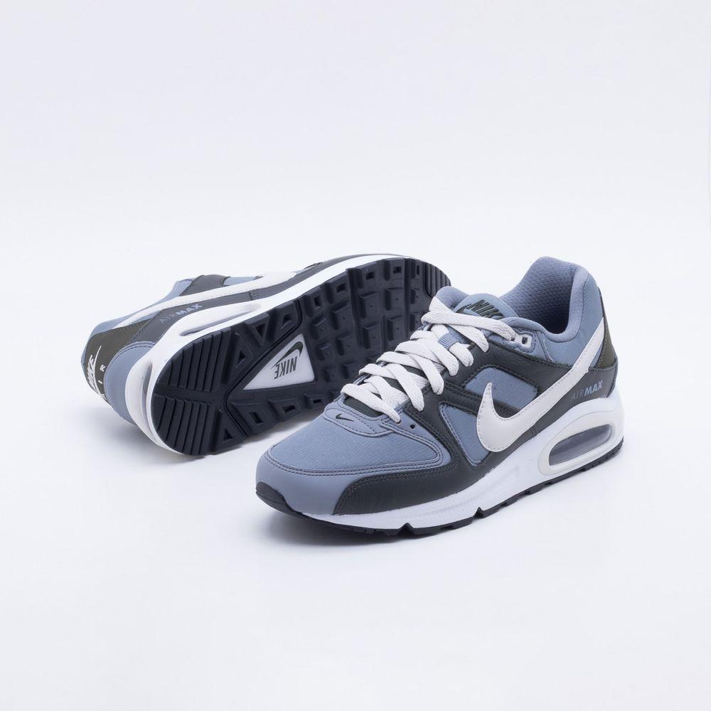 Tênis Nike Air Max Command Cinza Masculino Cinza - Gaston - Paqueta Esportes f3486e44dffb8