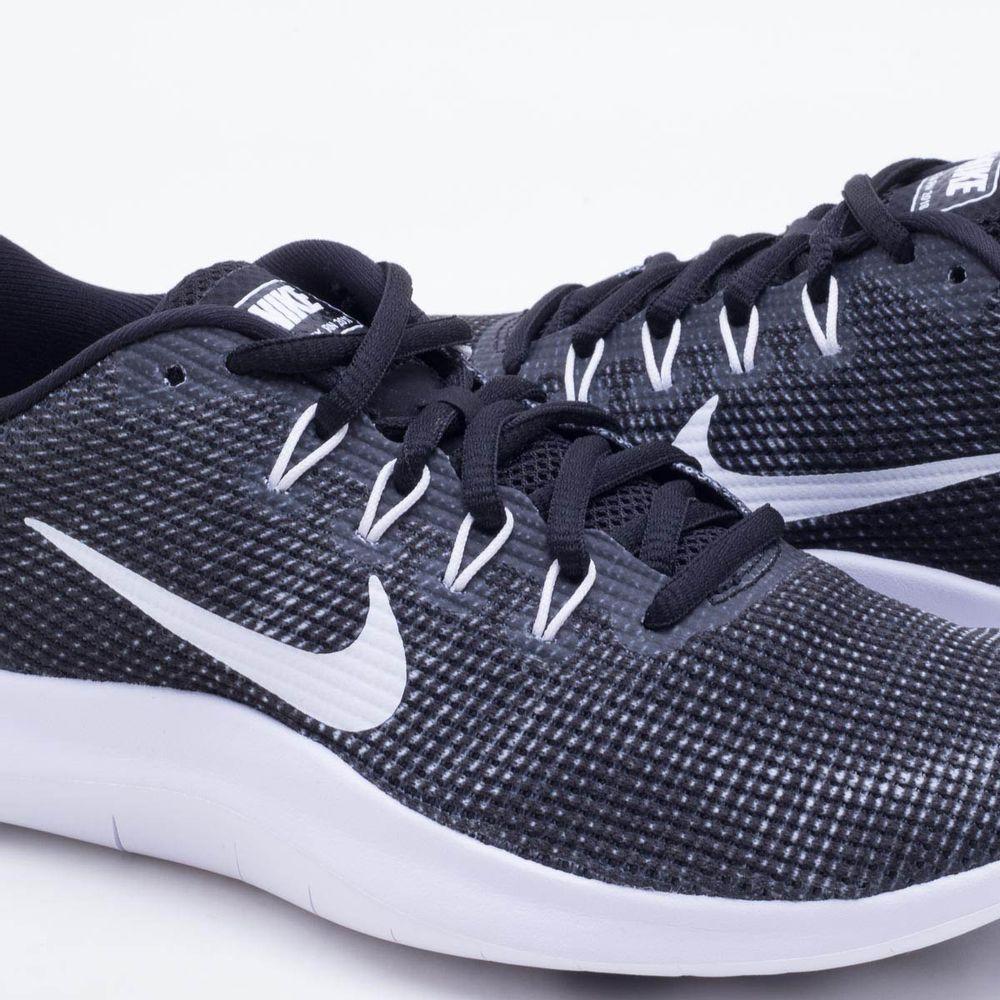 Tênis Nike Flex RN 2018 Feminino Preto e Branco - Gaston - Paqueta Esportes 25f2b1ecbe9a6