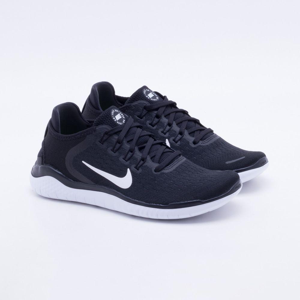 c4b913b25f2 Tênis Nike Free RN 2018 Feminino Preto - Gaston - Paqueta Calçados