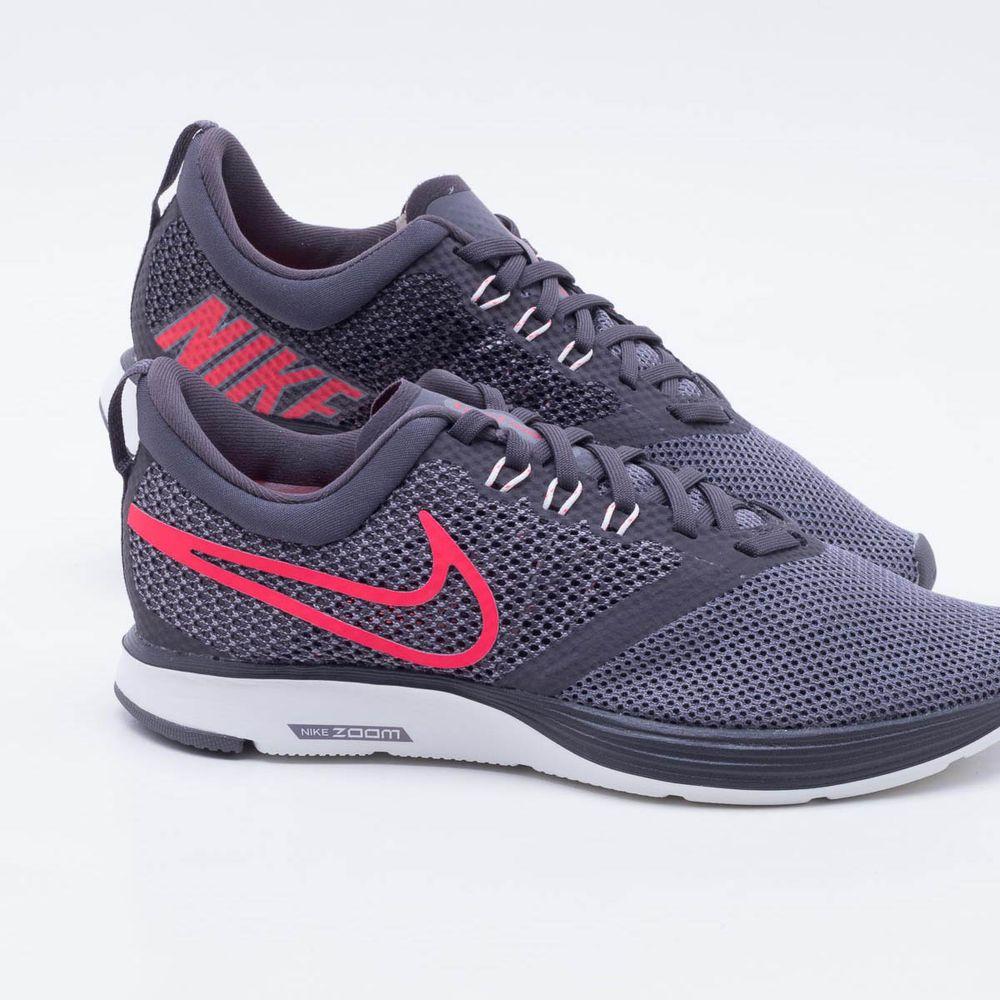 58f0ac5968e Tênis Nike Zoom Strike Feminino Cinza - Gaston - Paqueta Esportes