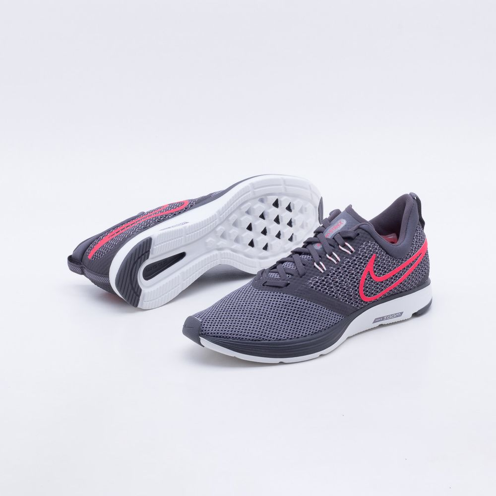 93a30c670 Tênis Nike Zoom Strike Feminino Cinza - Gaston - Paqueta Esportes