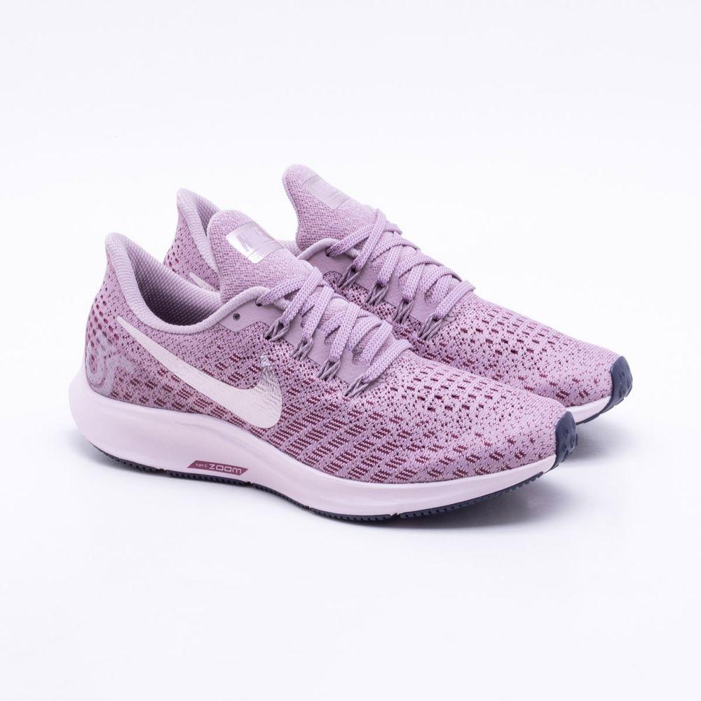 Tênis Nike Air Zoom Pegasus 35 Feminino Rosa - Gaston - Paqueta Esportes 90306ed7848f3