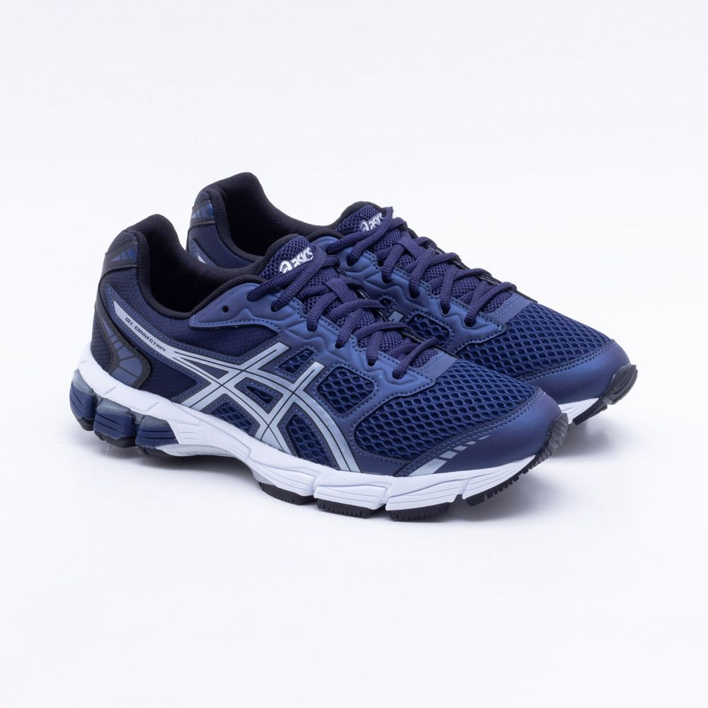 a98a635a519 Tênis Asics Gel Connection Masculino Azul Marinho - Gaston - Paqueta ...