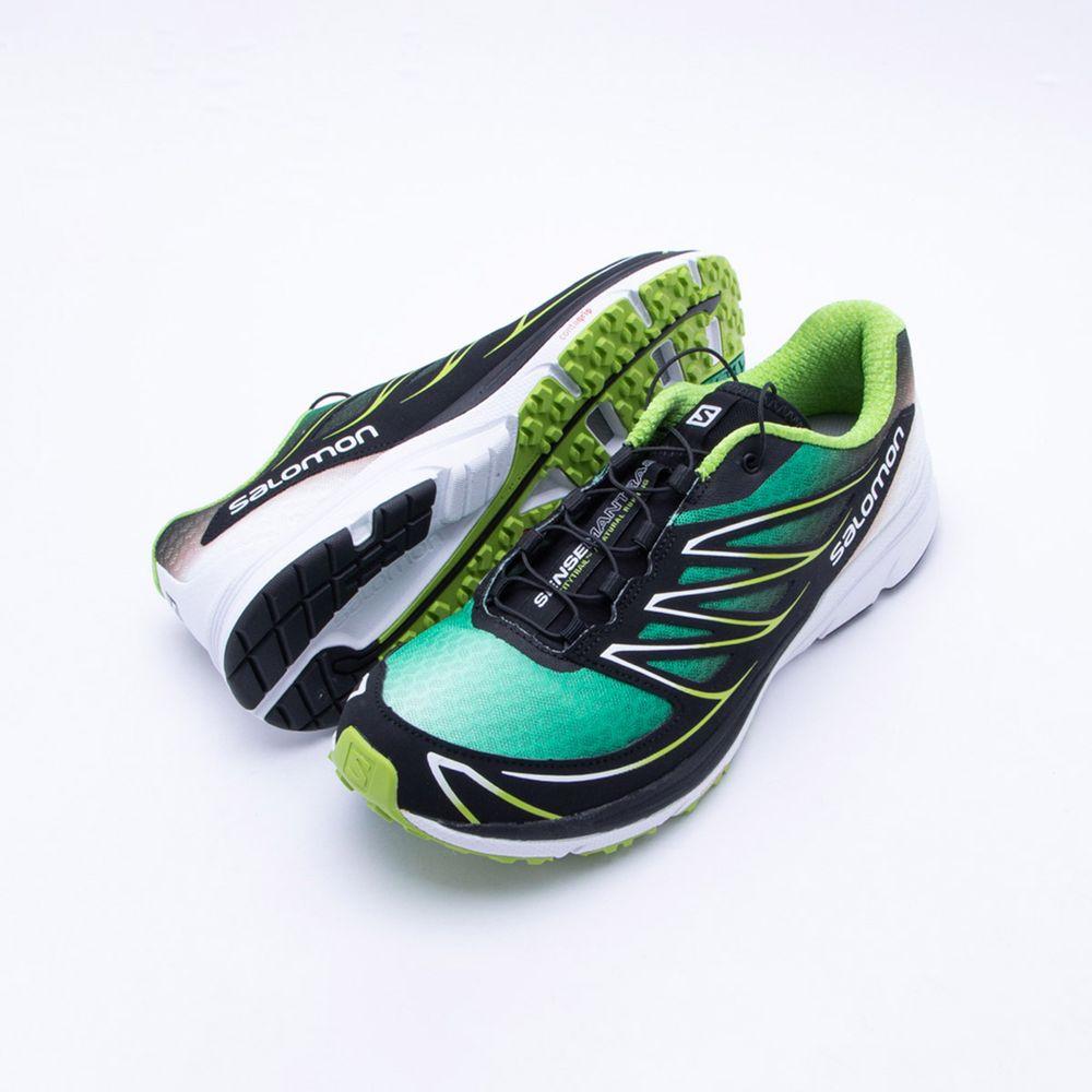 09b437110e Tênis Salomon Sense Mantra 3 Masculino Verde e Preto - Gaston - Paqueta  Esportes