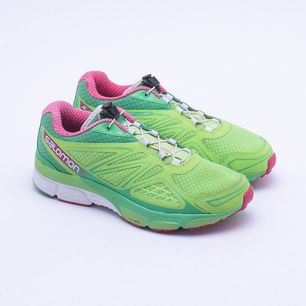 9fd171e5cce Tênis Salomon X-Scream 3D Feminino Verde - Gaston - Paqueta Esportes