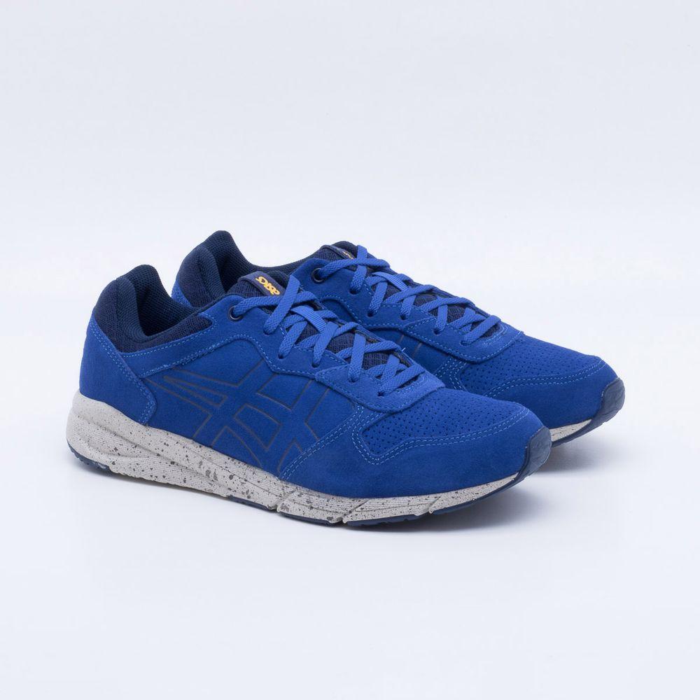 225fd3dead Tênis Asics Tiger Shaw Runner Masculino Azul - Gaston - Paqueta Calçados