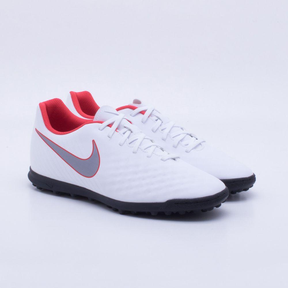 Chuteira Society Nike MagistaX Obra 2 Club TF Branco - Gaston ... 4e8dc105ee963