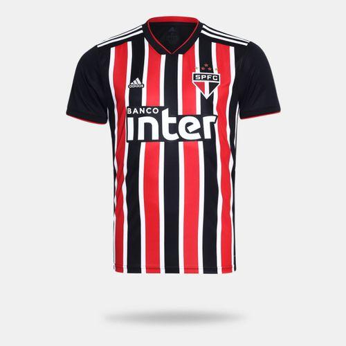 Camisa Adidas São Paulo II 2018 Preta Masculina ef36e1b531fae