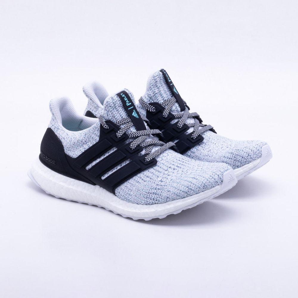 Tênis Adidas Ultraboost Parley Feminino Cinza e Preto - Gaston ... 5f024b4c8e58e