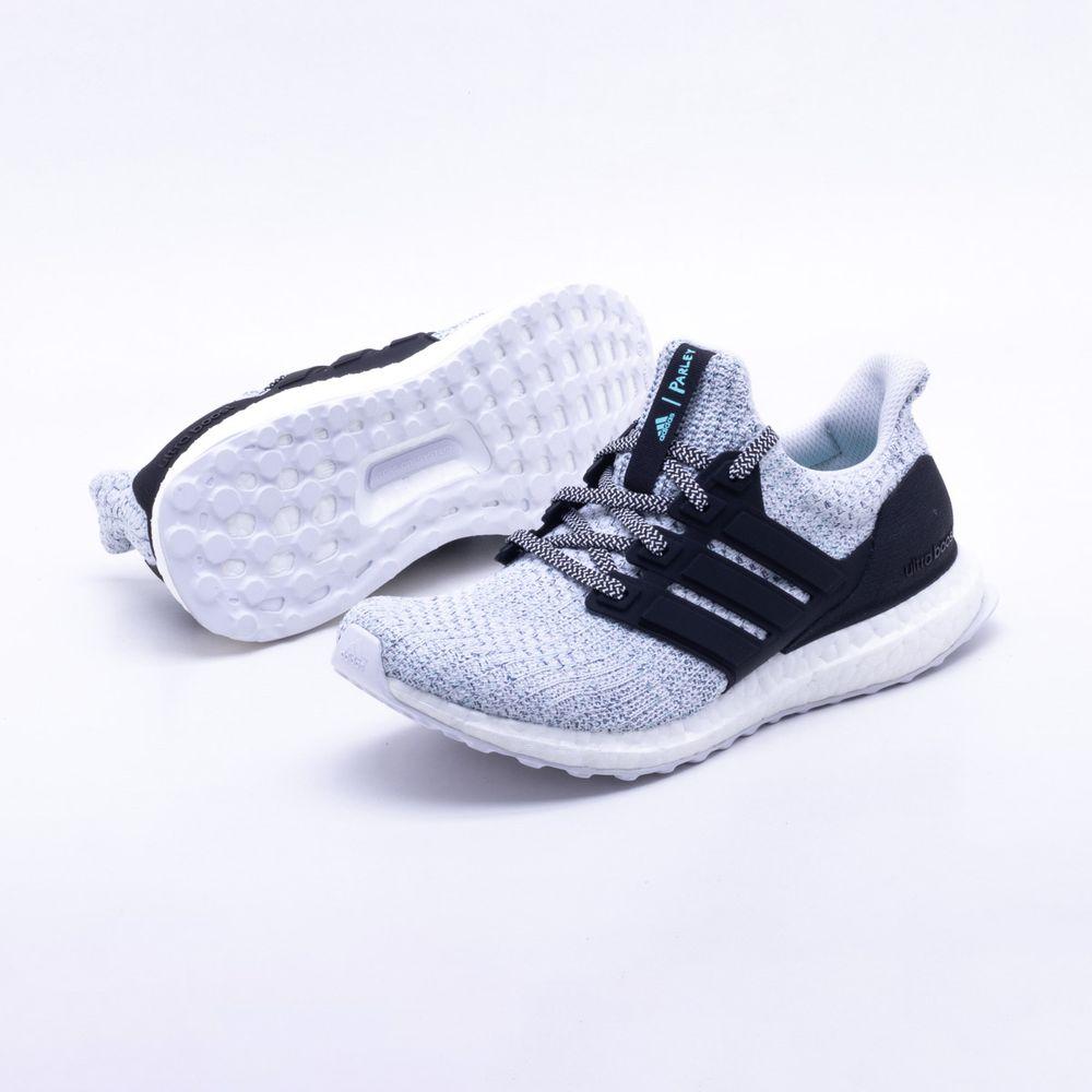 3d8563fd3a Tênis Adidas Ultraboost Parley Feminino Cinza e Preto - Gaston - Paqueta  Esportes