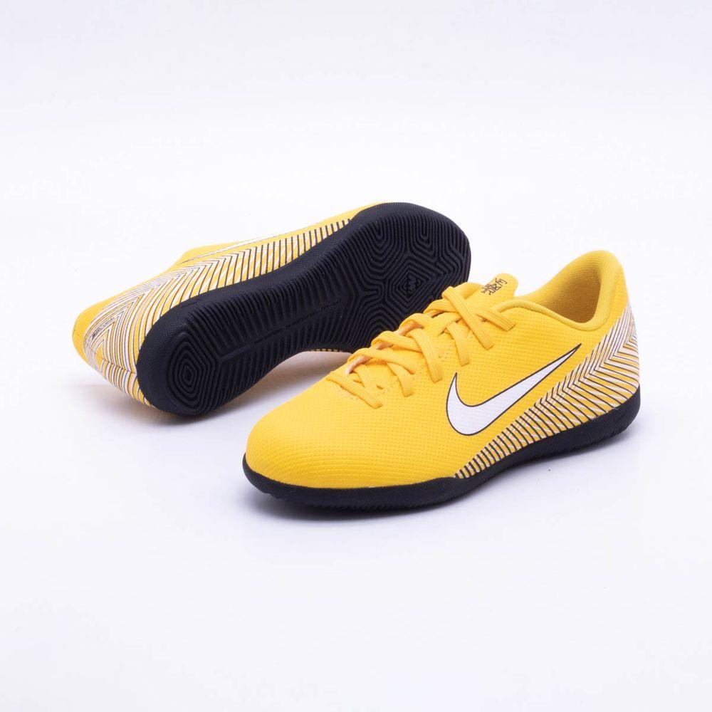 Chuteira Futsal Nike MercurialX Vapor XII Club Neymar Infantil IC ... a99278a2053db