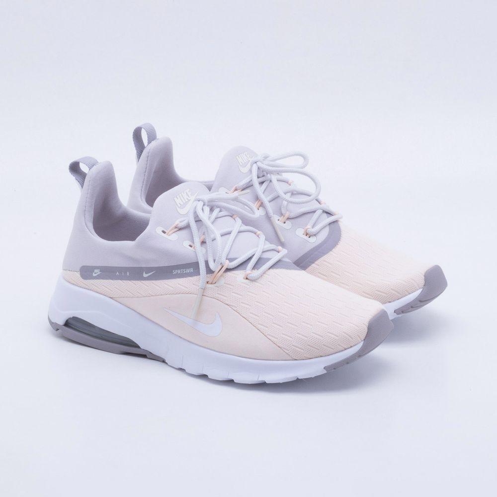 Tênis Nike Air Max Motion 2 Feminino Bege e Cinza - Gaston - Paqueta ... a240a834a8