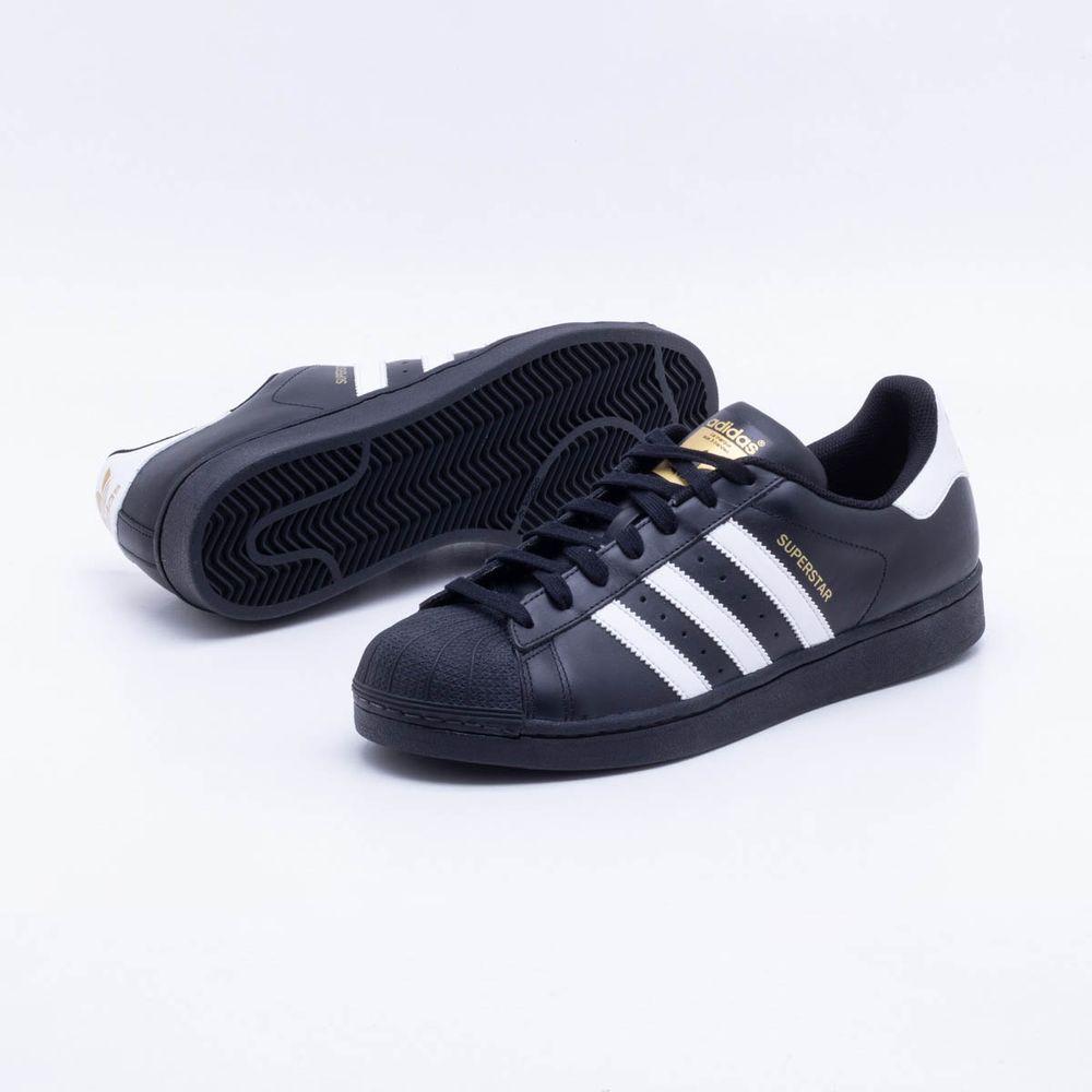 Tênis Adidas Superstar Foundation Originals Preto Masculino