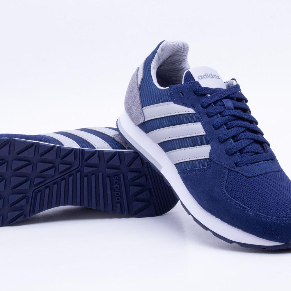 b703da2ca Tênis Adidas 8K Marinho Masculino Marinho - Gaston - Paqueta Esportes