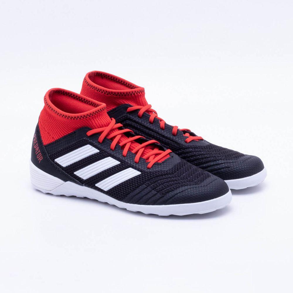a4ab08a09d Chuteira Futsal Adidas Predator Tango 18.3 IC Preto e Vermelho - Gaston -  Paqueta Esportes