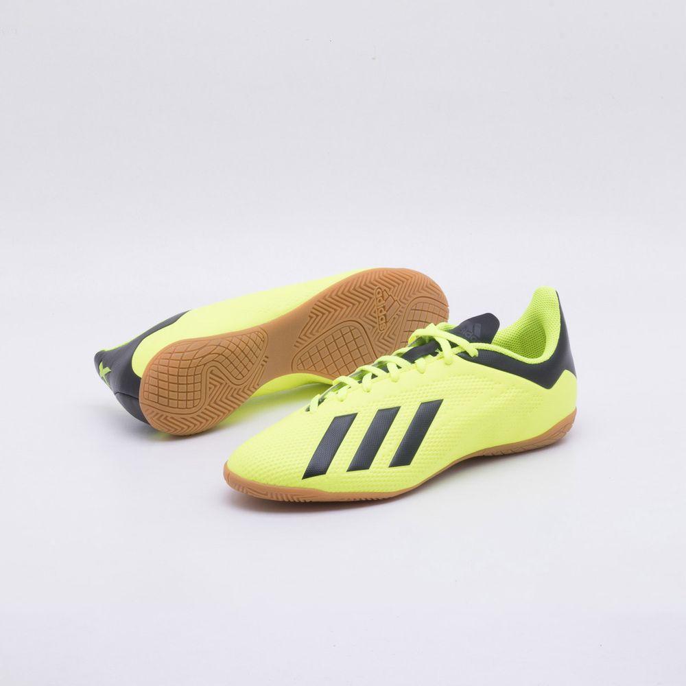 f38add7a25 Chuteira Futsal Adidas X Tango 18.4 IC Amarelo Neon - Gaston - Paqueta  Esportes
