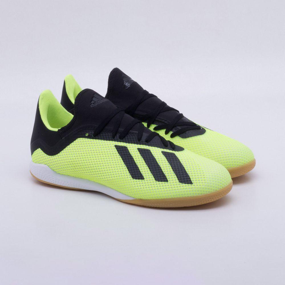 Chuteira Futsal Adidas X Tango 18.3 IC Amarelo Neon - Gaston ... 485b3baa7bafc