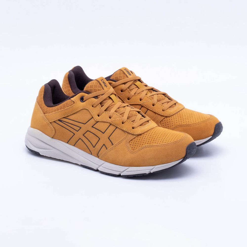 Tênis Asics Tiger Shaw Runner Caramelo Masculino Caramelo - Gaston ... 57237df95c47c