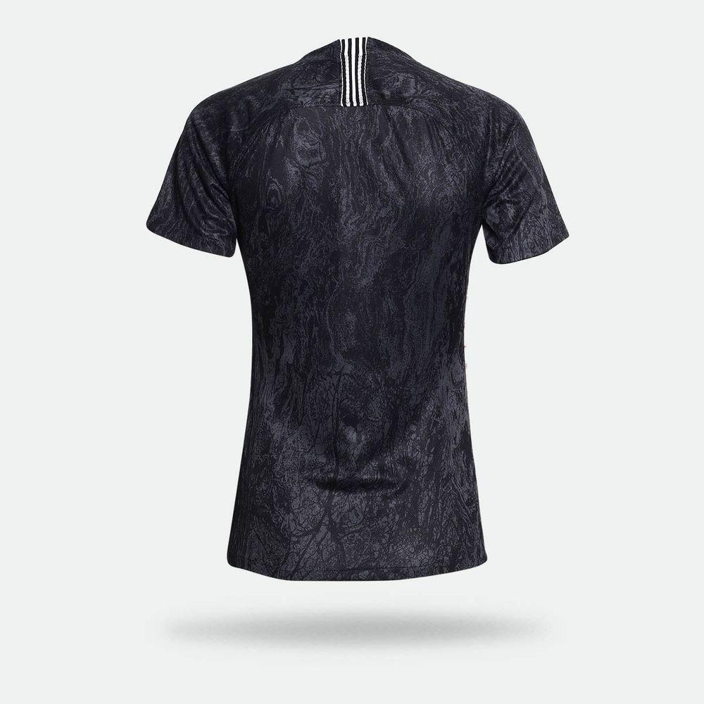 06ee1fc719525 Camisa Nike Corinthians II 2018 2019 Torcedor Preta Feminina Preto ...