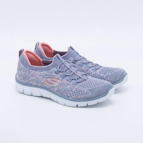 55803917790 Tênis Skechers Empire Sharp Thinking Feminino