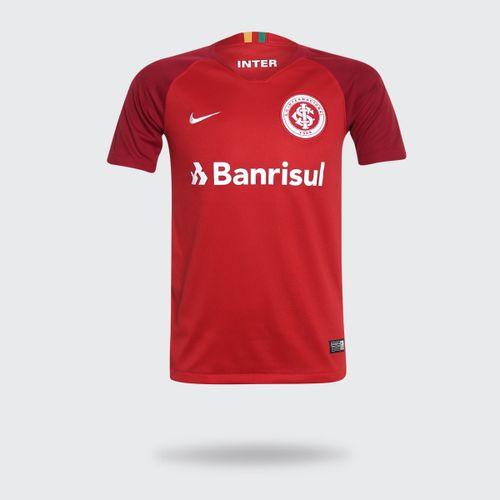 166256f83 Camisa Nike Internacional 2018 2019 I Vermelha Infantil