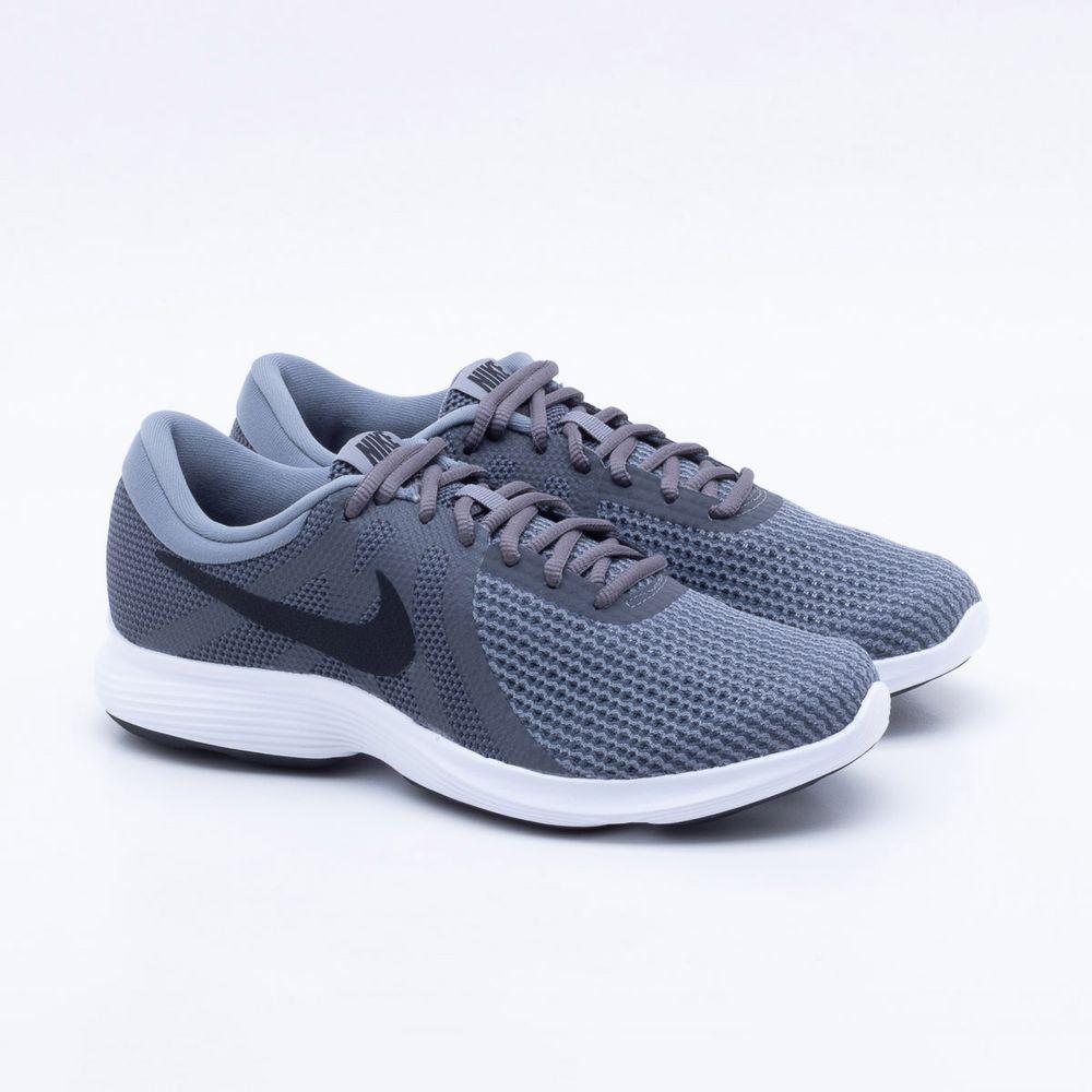 0a38a38e234 Tênis Nike Masculino Revolution 4 Masculino Nike Cinza Gaston Paqueta  Esportes 89825f