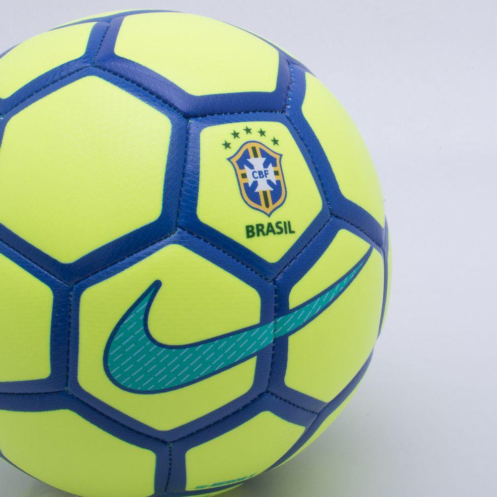 Bola Futsal Nike Menor CBF Brasil Verde Limão - Gaston - Paqueta Esportes d2fde3072f25b