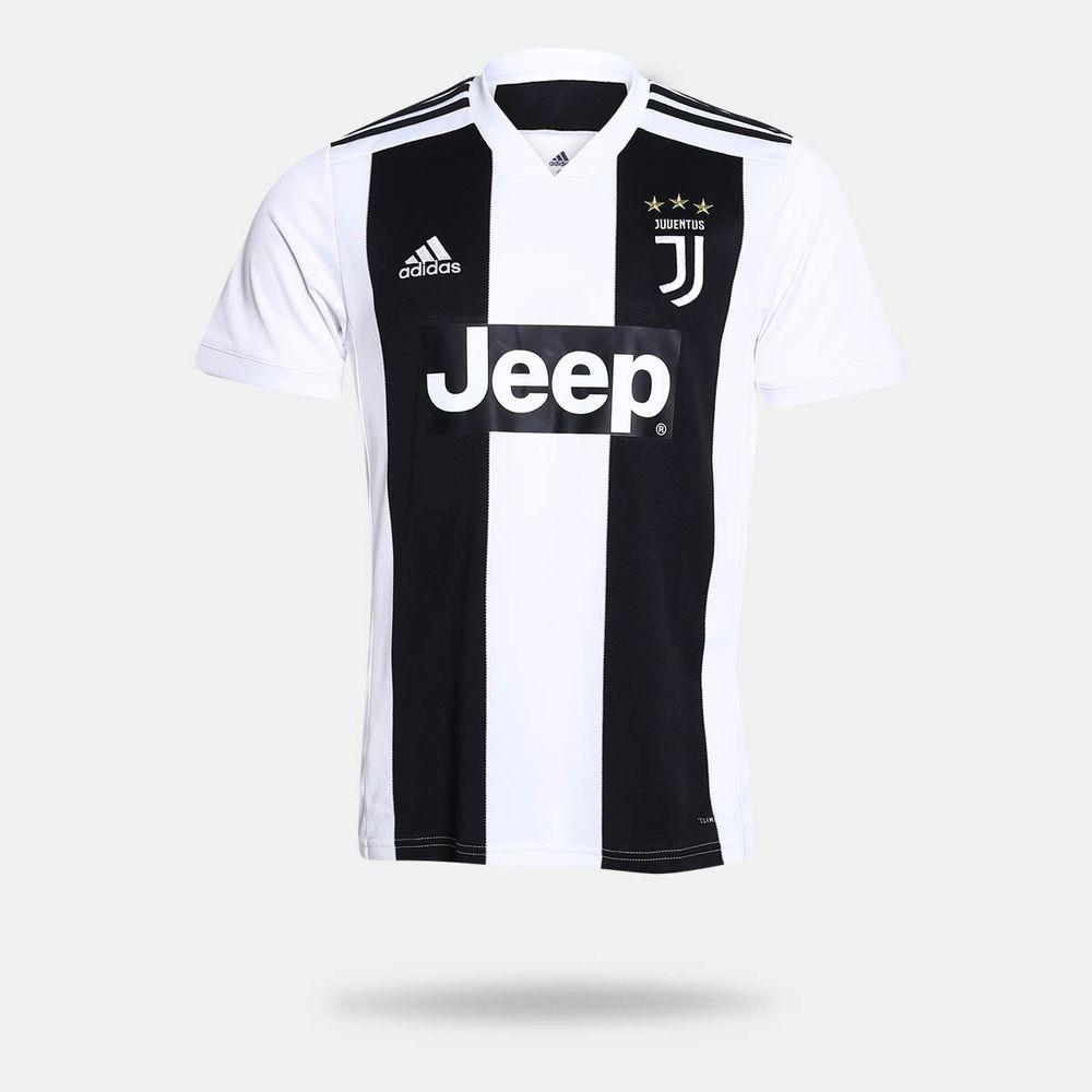 5bd54bb901 Camisa Adidas Juventus I 2018/2019 Torcedor Branca Masculina Branco ...