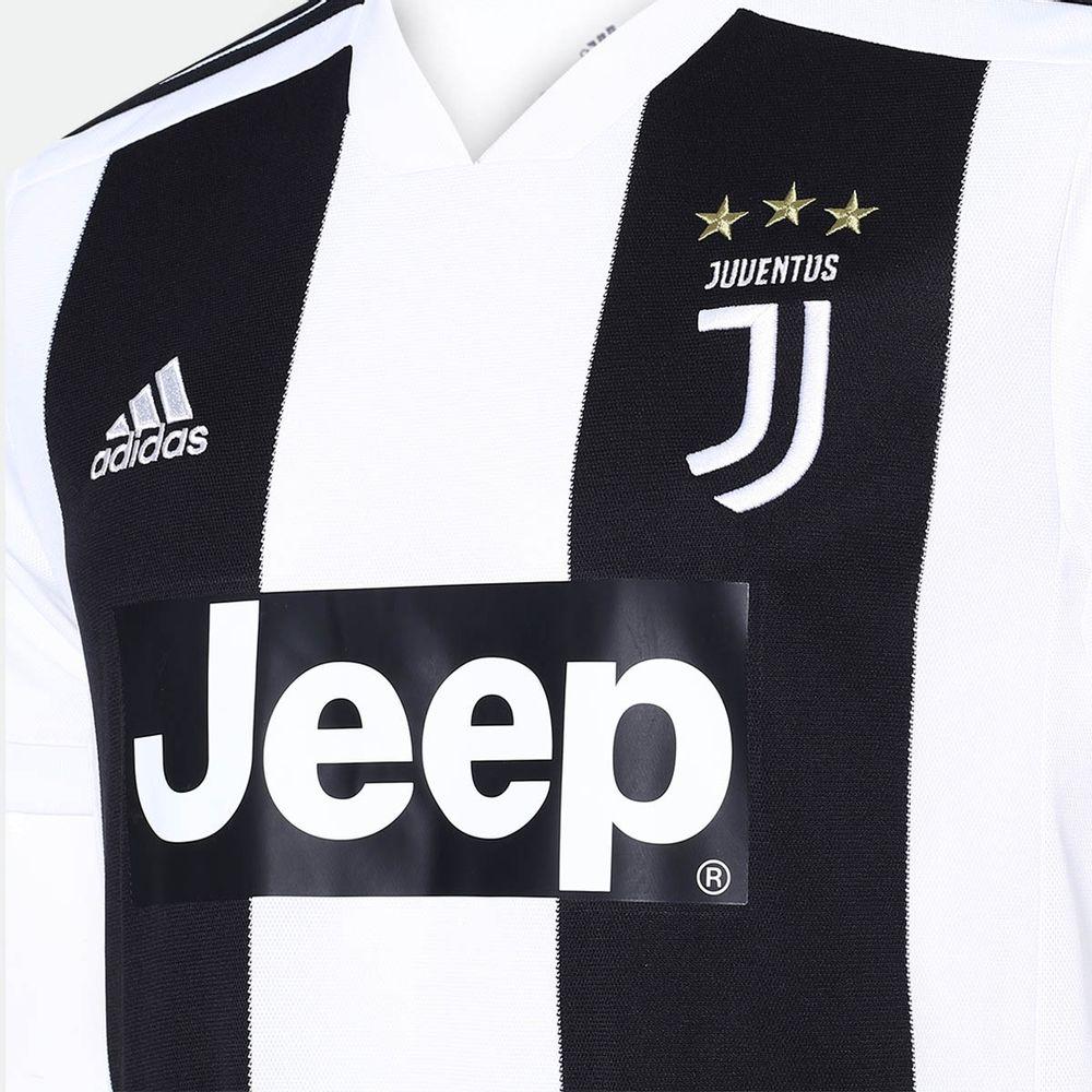 af752fd43 Camisa Adidas Juventus I 2018 2019 Torcedor Branca Masculina Branco ...