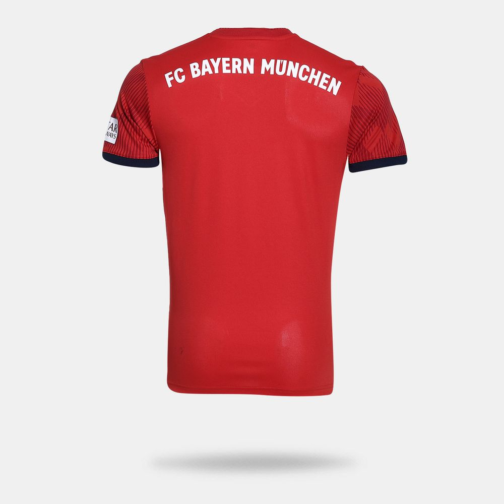 1b059ad4a Camisa Adidas FC Bayern Munique I 2018 2019 Torcedor Vermelha ...