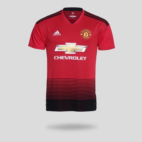 Camisa Adidas Manchester United I 2018 2019 Torcedor Vermelha Masculina bba852dd9325e