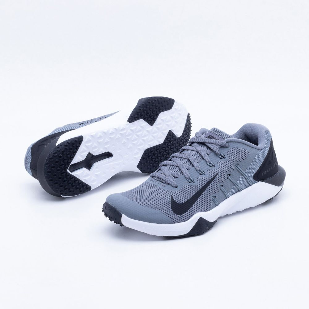 Tênis Nike Retaliation TR 2 Masculino Cinza e Preto - Gaston - Paqueta  Esportes ee88f27fa3b97